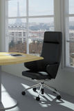 Modern urban office room Royalty Free Stock Images