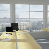 Modern urban office room Stock Photo