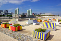 Modern Urban Park Stock Photo