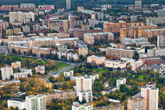 Modern urban residential district in autumn Royalty Free Stock Photography