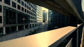 Modern urban scenery city panorama view stock video