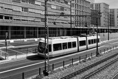 Modern Urban Tramway Royalty Free Stock Image