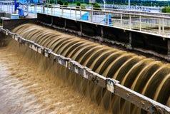 Modern urban wastewater Stock Photo