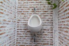 Modern urinals Stock Images