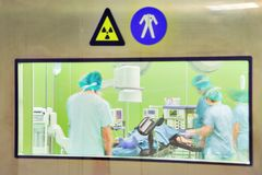Modern Urology Surgery Hospital stock image