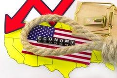 Modern US economy Royalty Free Stock Photography