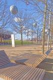 Modern utomhus- placering Arkivbild