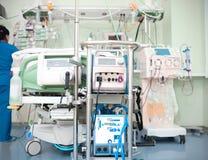 Modern utrustning i sjukhus royaltyfri bild