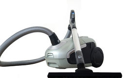 Modern vacuum cleaner isolated Royalty Free Stock Images
