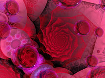 modern valentin för kort Royaltyfria Bilder