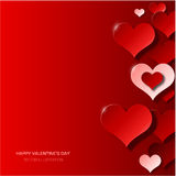 Modern valentine's day background Stock Photography