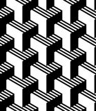 MODERN VANLIG GEOMETRISK SÖMLÖS VEKTORMODELL RANDIGA PARALLELLLINJER ABSTRAKT OPTISK KONSTDESIGN vektor illustrationer