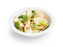 Modern variation of waldorf salad Stock Images