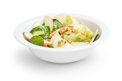Modern variation of waldorf salad Royalty Free Stock Photography