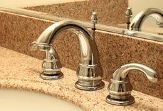 modern vask för badrum Arkivbilder