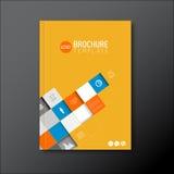 Modern Vector abstract brochure/boek/vliegerontwerpmalplaatje Stock Afbeelding