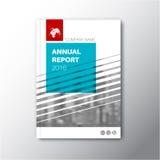Modern Vector abstract brochure/boek/vliegerontwerpmalplaatje Royalty-vrije Stock Foto's