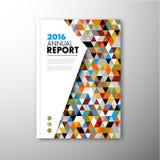 Modern Vector abstract brochure design template Stock Photos