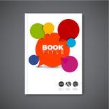 Modern Vector abstract brochure design template Royalty Free Stock Photos