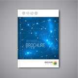 Modern Vector abstract brochure design template Stock Photo