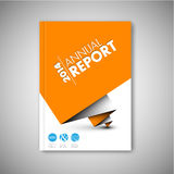 Modern Vector abstract brochure design template Stock Photography