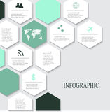 Modern vector abstract infographic elements. Modern vector abstract speech bubble infographic elements Stock Photo