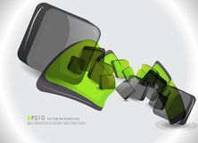 Modern vector background Royalty Free Stock Images