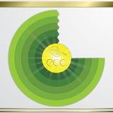 Modern vector circle diagram infographics elements. Modern vector pie chart circle diagram eco  infographics elements.  Can be used for workflow , diagram, list Stock Photo