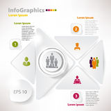 Modern vector elements for infographics for business design Stock Photos