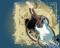 Modern vector grunge music background Royalty Free Stock Photo