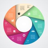 Modern vector info graphic for business project Royalty Free Stock Image