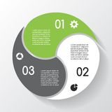 Modern vector info graphic for business project Stock Photos