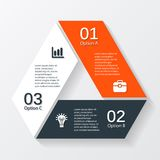 Modern vector info graphic for business project Stock Photo