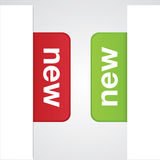 Modern Vector New Tabs Royalty Free Stock Images