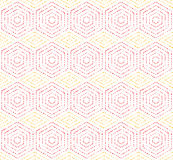 Modern Vector Seamless Dotted Pattern Stock Photography