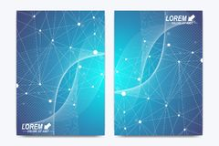 Modern vector template for brochure, Leaflet, flyer, advert, cover, catalog, magazine or annual report. Business Stock Images