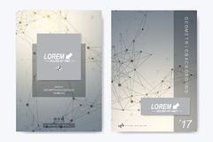 Modern vector template for brochure, Leaflet, flyer, advert, cover, catalog, magazine or annual report. Business Stock Photography