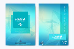 Modern vector template for brochure, Leaflet, flyer, advert, cover, catalog, magazine or annual report. Geometric Stock Images