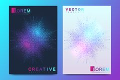 Modern vector template for brochure, leaflet, flyer, cover, banner, catalog, magazine, or annual report in A4 size vector illustration