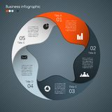 Modern vector template for your business project Stock Photography
