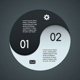 Modern vector template for your business project Royalty Free Stock Image