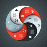 Modern vector template for your business project Royalty Free Stock Images