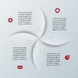Modern vector template for your business project Royalty Free Stock Photography