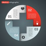 Modern vector template for your medical project Stock Photos