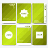 Modern vector templates for brochure, flyer, cover magazine or report in A4 size Stock Photo