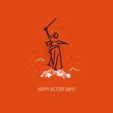Modern vector Victory Day design concept Stock Photo