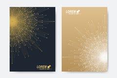 Modern vectormalplaatje voor brochure, Pamflet, vlieger, dekking, tijdschrift of jaarverslag Royalty-vrije Stock Fotografie