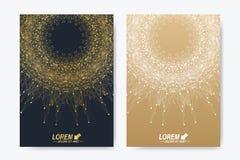 Modern vectormalplaatje voor brochure, Pamflet, vlieger, dekking, tijdschrift of jaarverslag Royalty-vrije Stock Foto