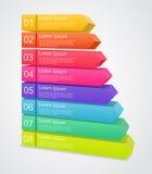 Modern vectormalplaatje voor uw bedrijfsproject Royalty-vrije Stock Foto's
