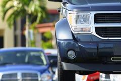 Modern Vehicle Stock Photo
